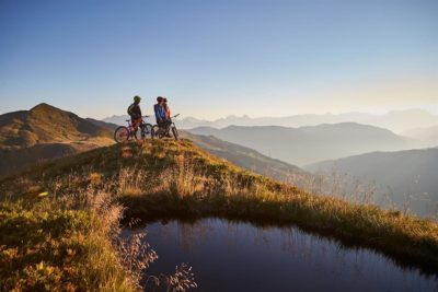 Biken in Saalbach by Daniel Roos